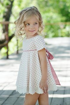 Moda infantil verano 2016                                                       … Little Girl Dresses, Girls Dresses, Flower Girl Dresses, Baby Girl Fashion, Kids Fashion, Frocks For Girls, Girls Wardrobe, Toddler Girl Dresses, Cute Little Girls
