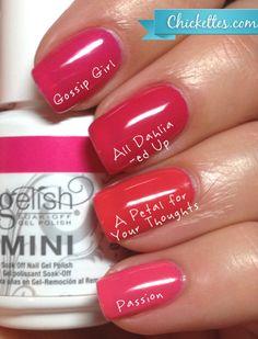 Gelish Pink Dupe Comparisons
