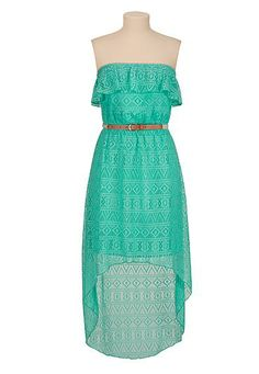 Ombre chiffon maxi dress with belt (original price, $44) available ...
