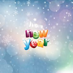 happy new year 2014 colorful letters ipad wallpaper hd ipad wallpaper ipad air wallpaper