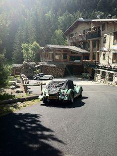 L'hotel en été