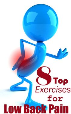Top 8 Exercises for Low Back Pain