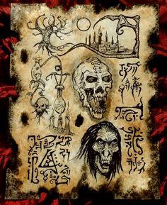 Sorcery and Science in Yahlgan II by MrZarono.deviantart.com on @DeviantArt