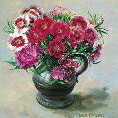 Sweet William | Mill House Fine Art – Publishers of Anne Cotterill Flower Art