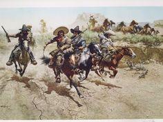 George Bridgman, Karl May, Art Students League, West Art, Military Figures, Cowboy Art, Le Far West, Cute Crafts, Wild West