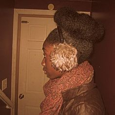 Click the image for Romona's natural hair photos and regimen.
