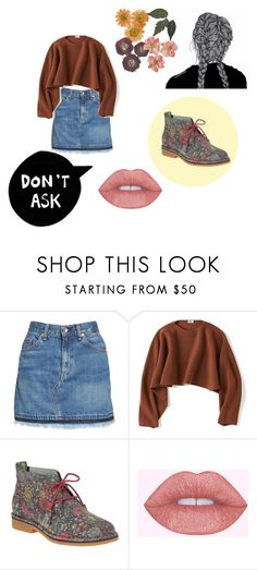 """Fall #11"" by ella13-369 ❤ liked on Polyvore featuring rag & bone/JEAN, Uniqlo and Hush Puppies"