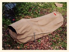 "The fully enclosed ""Adventurer"" bedroll"