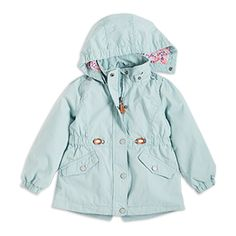 Parka, Turquoise, Girl 2-7 Years, Kids | Lindex