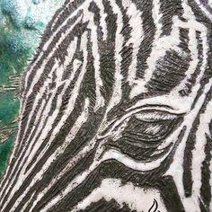 Raku zebra
