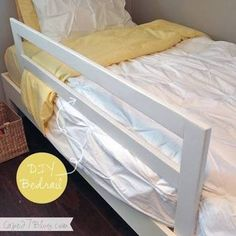 DIY Bedrail via disney princess toddler beds Gone are the days when decorating was a one-and-completed deal.