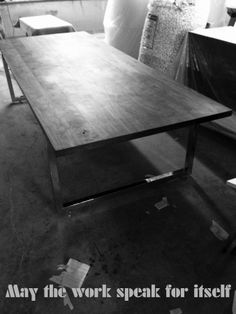 Finishing up a GAX 48 Table