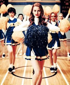 cheerleading, riverdale, and betty cooper image