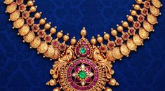 Top kasulaperu necklace designs in Gold :- Heavy kasulaperu designs from famous jewellery shops in hyderabad and other locations. GRT Jewellers :- GRT has many branches across locations.The last, yet not the least name in the list of best jewelry stores in Hyderabad calls for the famous G. R. Thanga Maligai, which is popularly summoned as the GRT Jewellers by the Hyderabadis. GRT boasts itself to be the country's foremost jewellery house that brings a striking assemblage of ornaments in…