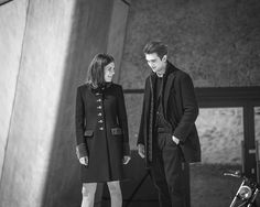 Join Gabriel-Kane Day-Lewis and Morgane Polanski behind the scenes of the Fay Fall-Winter 2016/17 campaign shoot.