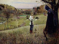 Mikhail Nesterov - The Vision of the Youth Bartholomew (c. 189091)