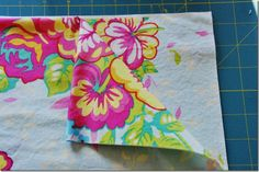 I was at my wits end last night trying to find straight edges of my fabric for cutting. Great tutorial!