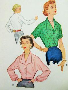 50s blouse