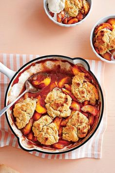 Crazy-Good Fruit Cobbler Recipes: Grilled Peach Cobbler