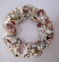 Stuff You Can't Have: Seashell Wreath