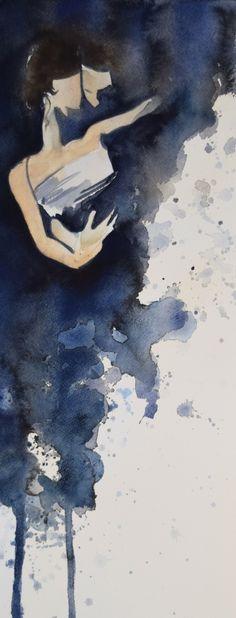 "Tango Art by Lauren Bolshakov ""connection"""