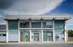 AIB BANK TERENURE | MQA | MQA Building, Outdoor Decor, Modern, House, Trendy Tree, Home, Buildings, Homes, Construction