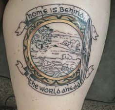 Can't wait for this to be finished! It's going to be beautiful. #tolkien #thehobbit #lotr #hobbiton #theshire #bagend #Tattoo #thightattoo #girlswithtattoos (lovethetrio) Tags: tolkien thehobbit lotr hobbiton theshire bagend tattoo thightattoo girlswithtattoos