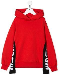 MSGM Luxury Fashion Womens Sweatshirt Summer Red