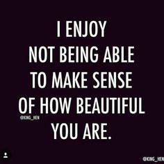 Some people just know how to make you feel like you are the most beautiful woman in the world, inside and out. Like there is no competition and every other woman is merely normal to them. ❣ #beautiful #thankyou #rp #repost #quotes #qotd