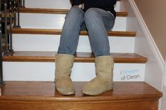 How to clean surface grime and dirt off your Ugg boots