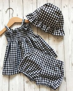 Baby Girl Clothes – Gingham Baby Outfit – Baby Shower Gift – Gingham Baby Girls … Baby Girl Clothes – Gingham Baby Outfit – Baby Shower Gift – Gingham Baby Girls … – Little Fashionista Baby Summer Dresses, Summer Baby, Baby Girl Dresses, Baby Dress, Summer Set, Baby Summer Clothes, Summer Outfits, Dress Girl, Dresses Dresses