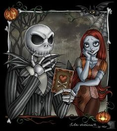Nightmare_Before_Christmas...Jack & Sally