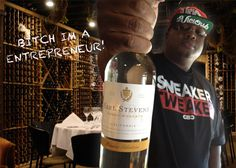 California rapper E-40 has become the surprise toast of the wine world