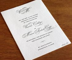 Black Tie Wedding Invitation Reply Card Printable by NCCreative