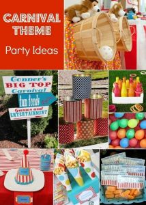 Three Can't Miss Summer Birthday Party Ideas | carnival party ideas