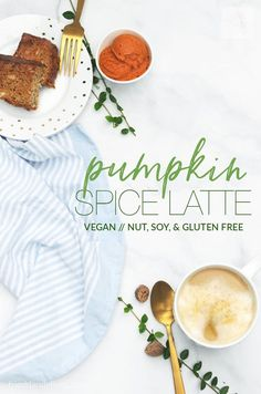 Get ready for fall with this delicious vegan Pumpkin Spice Latte!  Just a fraction of the cost of a fancy store-bought latte, and you get to control the ingredients! Dairy, nut, and soy free!