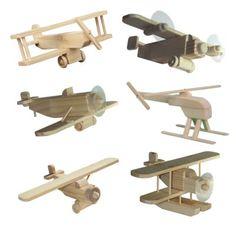 Junior Airplane Set Woodcraft Kits