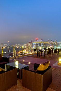 Enjoy the view on Hong Kong at The Park Lane Hotel #Pullman #NightLife
