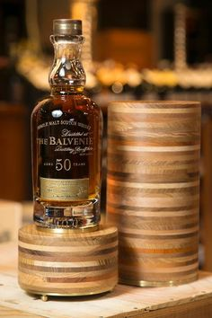 Balvenie 50 year old $5000.... now that is a bottle of scotch!