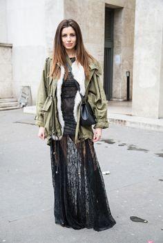 The Best of Paris Fashion Week Street Style (So Far): Emma Gelaude, blogger, myfashionblog.be