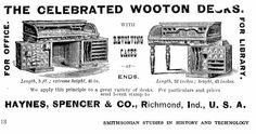 ADVERTISEMENT in Frank Leslie's Illustrated Newspaper (27 June 1885), p. 312.  (Photograph from the Library of Congress