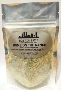 Home On The Ranch - Beef, Poultry, Dips, Salad Dressing, Vegetables Seasoning Blend - Approx 1/4 cup in a stand-up resealable pouch wt. 1.1oz/32g