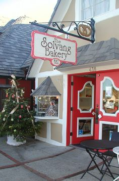 Solvang Bakery Sovang is a destination. If ever in California, the cream filled danish waffles are sublime