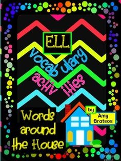"""""""Around the House"""" Vocabulary and Language Building for ELL or all Students"""