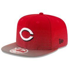 5921d00c434eb Men s New Era Red Cincinnati Reds Flow Flect Original Fit 9FIFTY Snapback  Adjustable Hat
