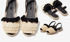 So in Carmel / Currently Craving: Uterque ruffle espadrilles //  #Fashion, #FashionBlog, #FashionBlogger, #Ootd, #OutfitOfTheDay, #Style