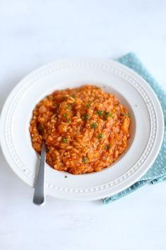 Rode risotto