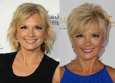 Short Hair Ideas for Older Ladies