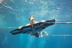 Fly Underwater With Subwing: A New Carbon Fiber Watersport Product From Norway.
