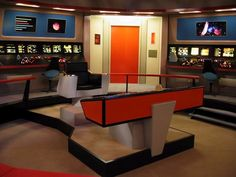 Bridge of (TOS) U.S.S. Enterprise NCC-1701